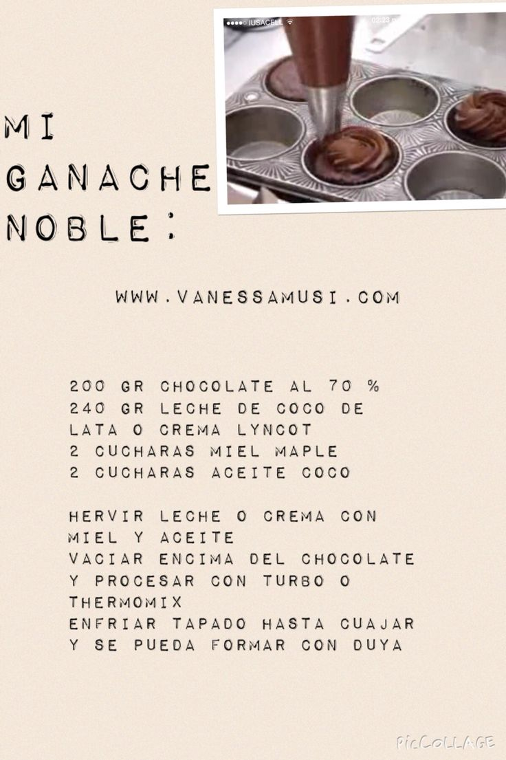 13 best pastelera noble images on pinterest health desserts mi ganache noble healthy recipeshealthy forumfinder Images