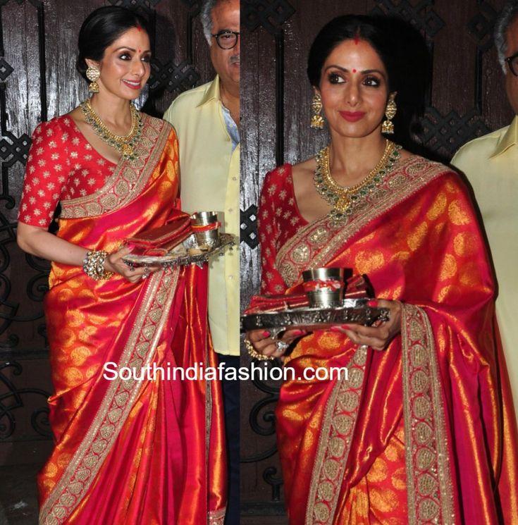 Sridevi Kapoors Stunning Karwa Chauth Look photo