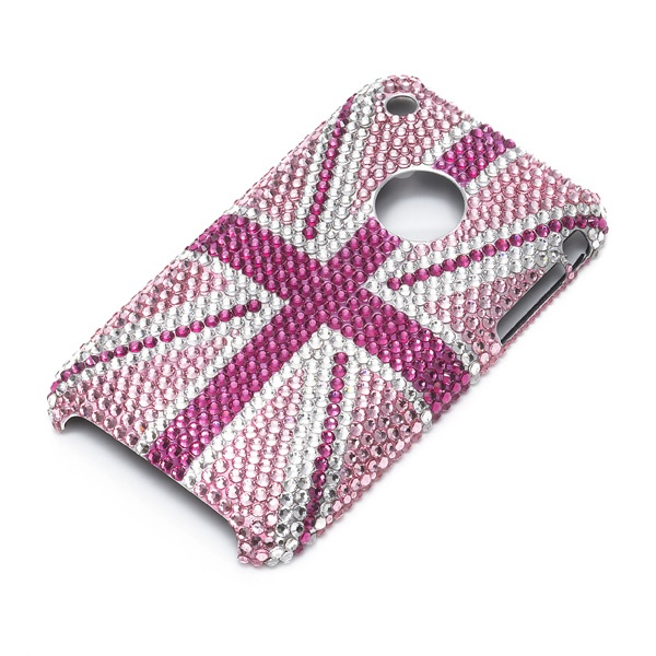iphone 3 pink union jack cover #teamGB