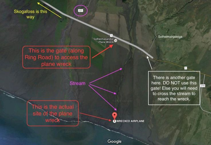 Directions to DC-3 Plane Wreck (South Iceland)