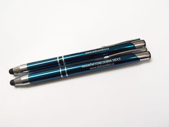 Stylusové pero - tyrkysové