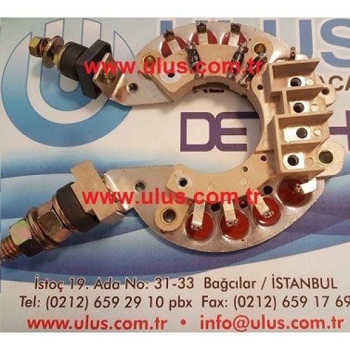 7T6416 Diyot Tablası Aletnator şarj dinamosu, CAT D7G Caterpillar