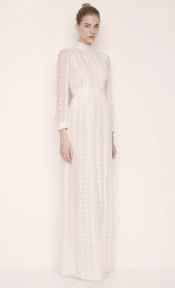 Modest Wedding Dress #modest #wedding #dress #sleeves