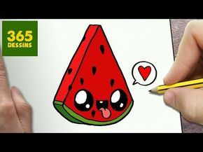 COMMENT DESSINER DONUT KAWAII ÉTAPE PAR ÉTAPE – Dessins kawaii facile - YouTube