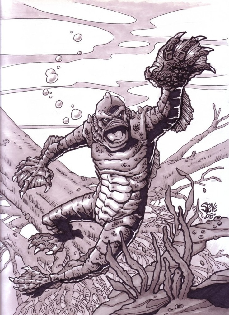 Creature from the Black Lagoon by Willhite