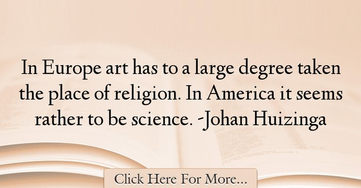 Johan Huizinga Quotes About Religion - 59302