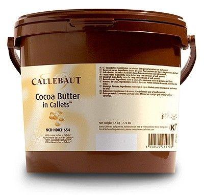 Callebaut cocoa butter callets 3kg by Callebaut