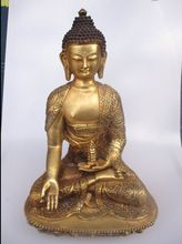 US $279.00 Very Big Buddha!!! High 15.5 inch Antique Buddha Sculpture ,Collectible Old Chinese Brass Buddha Statue. Aliexpress product