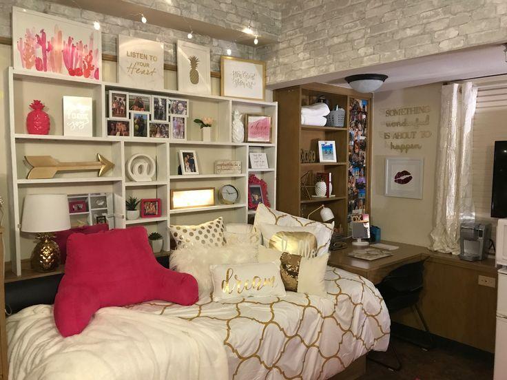 College Dorm Room Storage Ideas