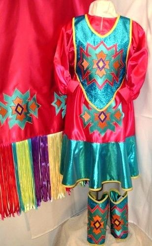how to make fancy shawl regalia | We did not make the peach shawl, but made the peach skirt to wear with ...