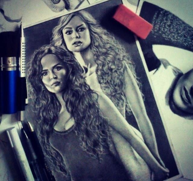 Vampire Academy/amazing fan art *-*