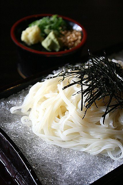 Japanese noodles ,Inaniwa udon