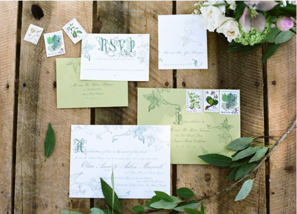 serene severtson/ elizabeth messina's a lovely workshop/wiley valentine invitation suite