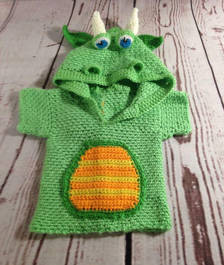 Dragon Hoodie - Baby Crochet Hoodie - Sweater - Costume - Cosplay - Dragon Costume - Baby Poncho - Baby Sweater - Baby - Swim Coverup by StephsFamilyStitches on Etsy https://www.etsy.com/ca/listing/471766701/dragon-hoodie-baby-crochet-hoodie