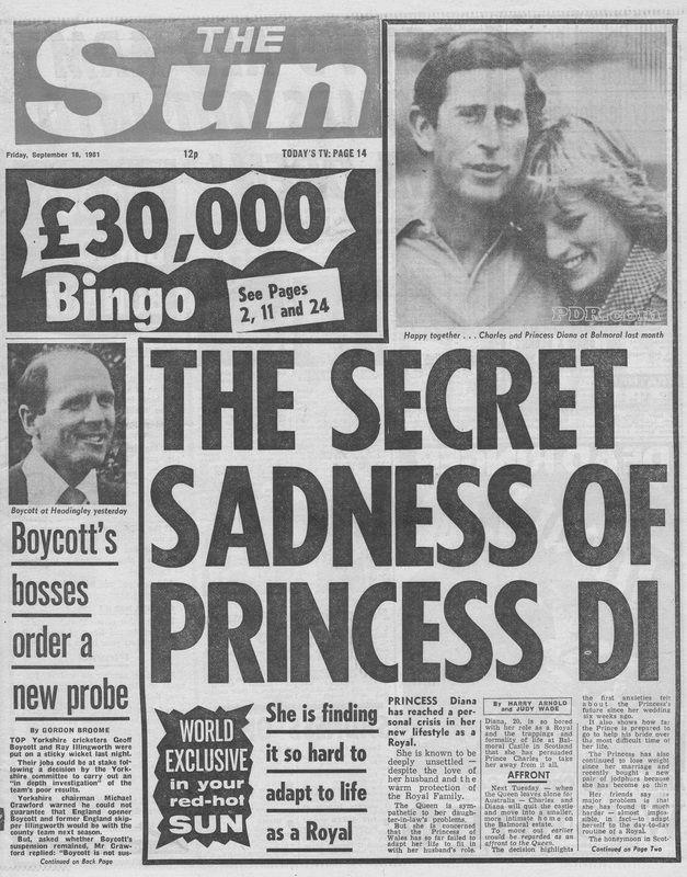 1981 09 18 Sun Newspaper article