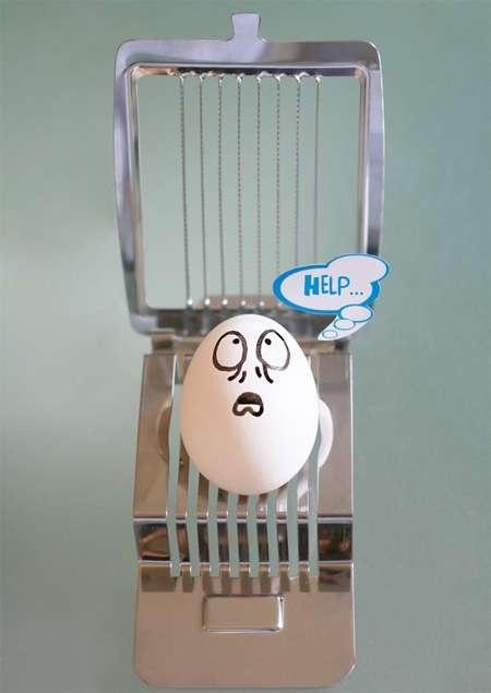 food art... help me egg