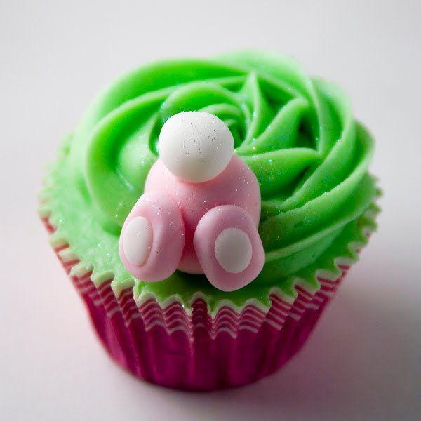 Fotos de cupcakes decorados para Pascua – Imágenes de cupcakes de Pascua- Ideas de cupcakes - CocinaChic