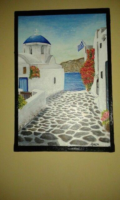 por las calles de Grecia