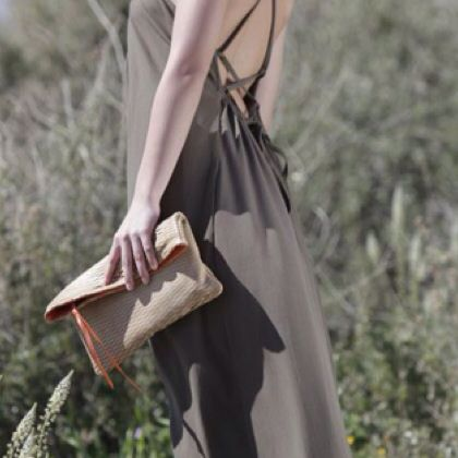 Streetsbags#clutch#leather#beige#