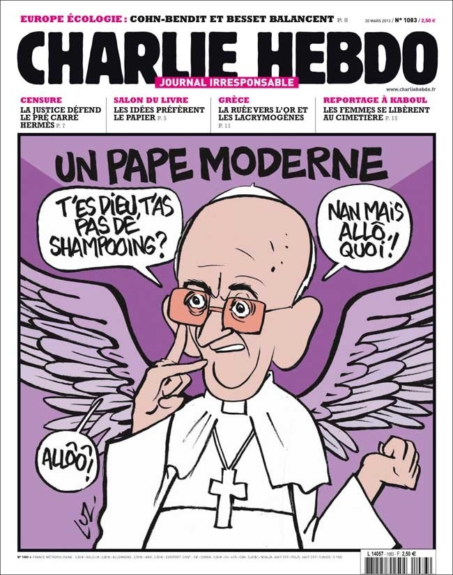 La une   Charlie Hebdo   Charlie Hebdo