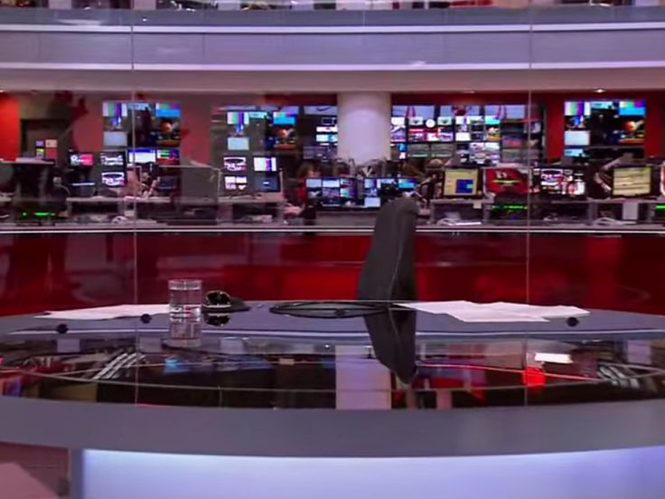#Robotic_Cameras Causing #Problems for #BBC_News  The robotic cameras in the BBC news room had been causing the changes that had been made by the zooming in and out of the cameras.