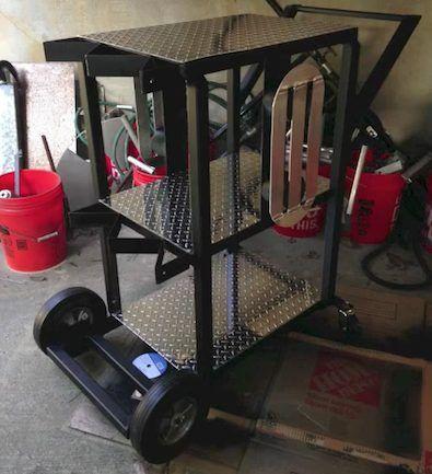 Welding Cart Project part 5