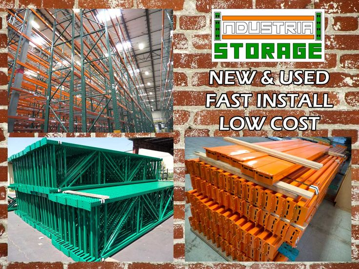 NEW & USED pallet racks for sale everyday!  STRONG DURABLE LOW COST LOW MAINTANCE  Who should you trust with your warehouse storage?  Call 909-793-5914 Click www.industrialstoragesolutionsinc.com