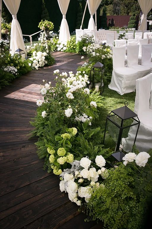 gellerevents | Elegant Garden Wedding