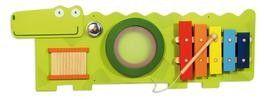I´M Toy, Wandspiel Krokodil große Spieltafel aus Holz, für die Wand | 0394 / EAN:08850714771206