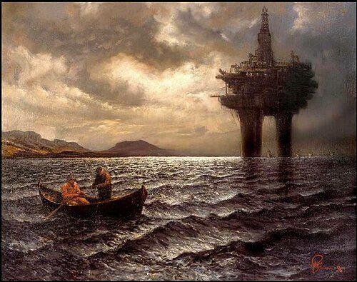 Olje og fisk Gude, Rolf Groven, 1996