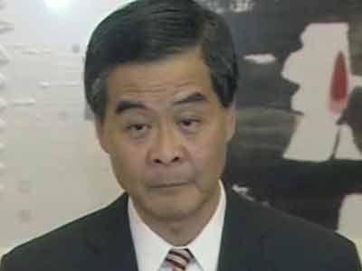 China backs Hong Kongleader CY Leung