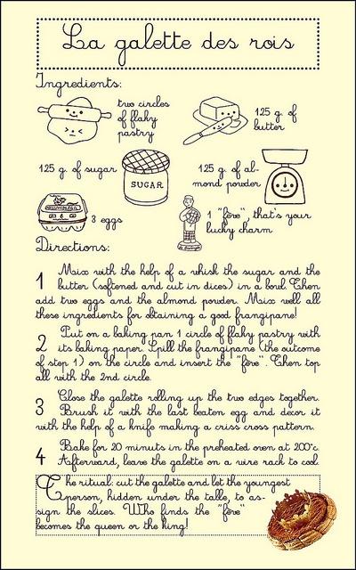 galette des rois recipe by Memi The Rainbow, via Flickr