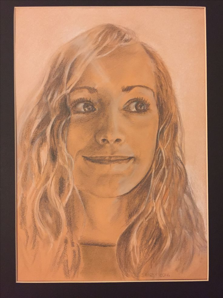 Susannah - Oct 2016 - pencil & pastel