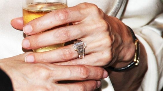 Now that Brad Pitt's confirmed his engagement to Angelina Jolie, let's take a closer look at the ring he designed for his partner of seven years.