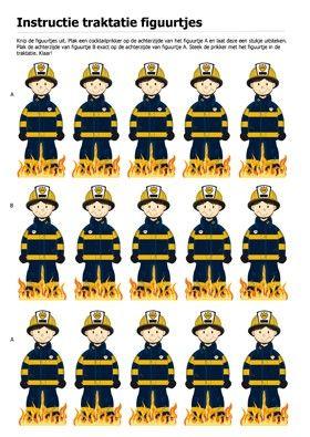 Traktatie Figuurtjes Brandweer 30 Stuks cakepins.com
