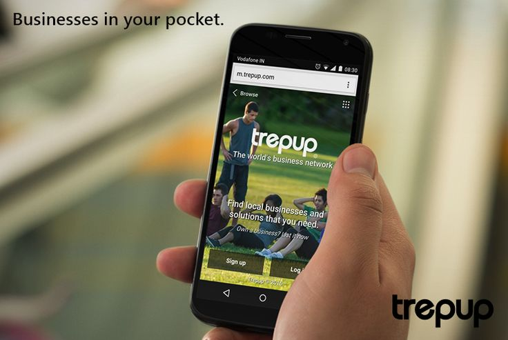 Carrying the world's business in your pocket is now a reality. With the Trepup mobile app, information is now at the tip of your fingers! http://trepup.co/1UUDhAi