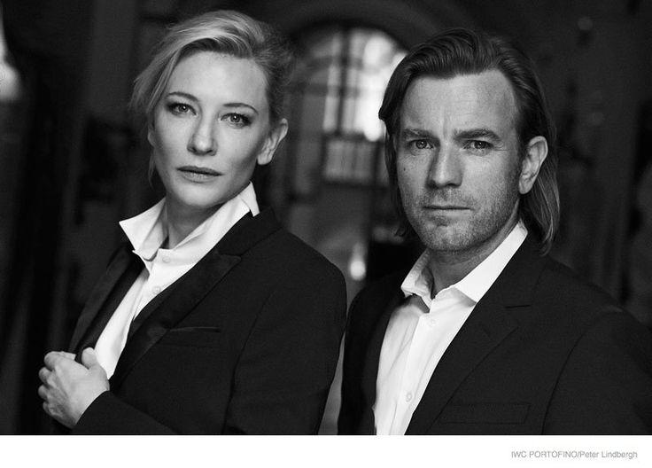Cate Blanchett, Emily Blunt + Zhou Xun Star in IWC Portofino Ads by Peter Lindbergh