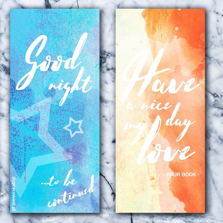 blue&oranż  #GRAiFIKA #bookmarks #bookmark #dopobrania