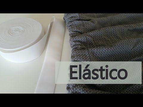 Como colocar elástico no cós / Como fazer saia franzida com elástico - YouTube