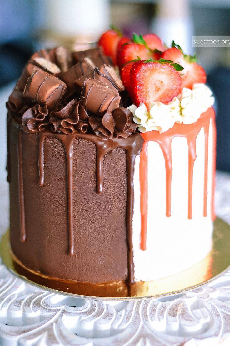 Bi Taste Vanilla Amp Strawberry Layer Cake My Kind Of