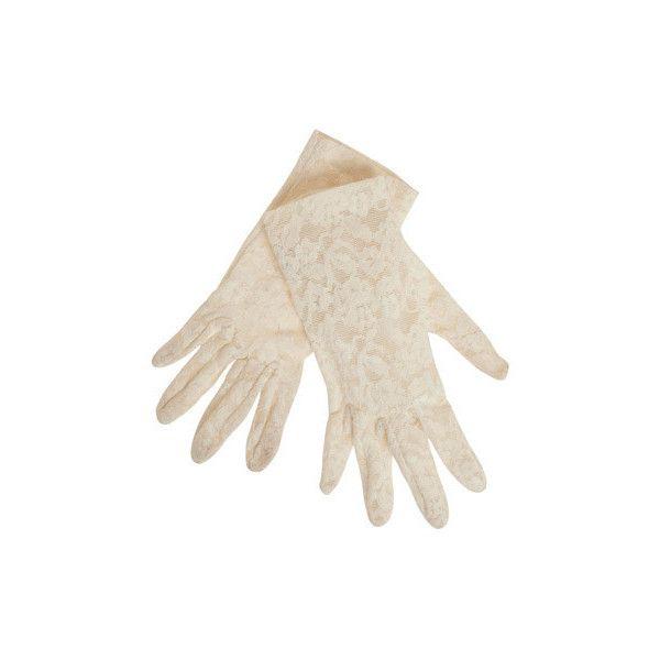 Vintage Rapt Interest Gloves ($20) ❤ liked on Polyvore