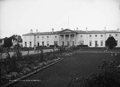 The Vice Regal Lodge In Pheonix Park Home To Irish Lord Lieutenant History