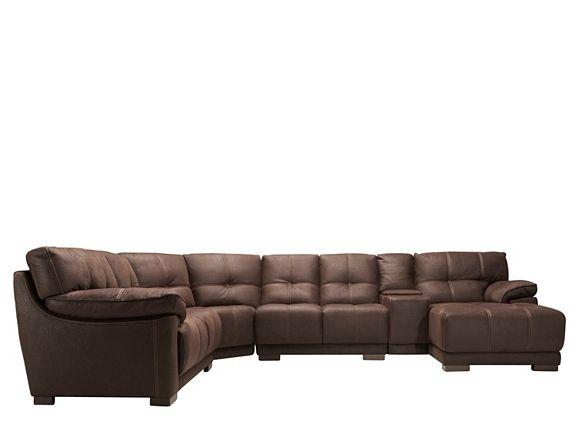 Castin 5 pc microfiber sectional sofa sectional sofas for 5 pc microfiber sectional sofa