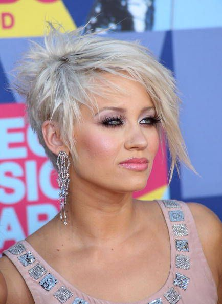 Okay...this is maybe a little crazy, but I think I kind of like it. (Kimberly Wyatt)