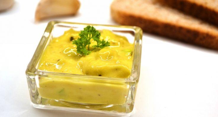 Aioli (fokhagymás majonéz) recept