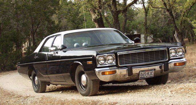 Dodge Polara Police Car For Sale