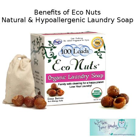 You may not have heard of them before, but Eco Nuts, also know as the soap nuts or soapberries, have been around for centuries and this all natural, hypoallergenic, fragrance free, biodegradable and non-toxic soap is not only good for you, but also for the environment.