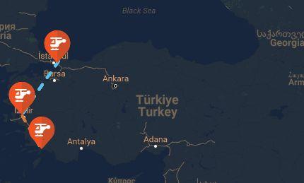 Suikast Timinin Rotası FETÖ'nün 15 Temmuz'daki darbe girişimi sırasında Cumhurbaşkanı Erdoğan'a yönelik suikast girişimine katılan Özel Kuvvetler, MAK ve SAT personelinin nakilleri üç helikopter ile sağlandı.