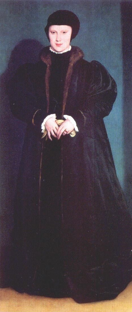 Christina of Denmark, Henry's first choice for wife number 4 an 'honor' which eventually went to Anne of Cleves
