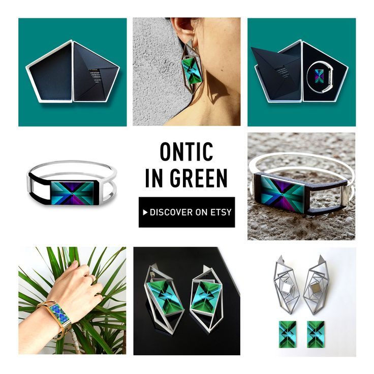 """""""We are just trying to find some color in this black and white world."""" cit. The Maine. Discover & shop your favorite Ontic green Jewelry on our #Etsy page: onti.cc/1brmq6A"""